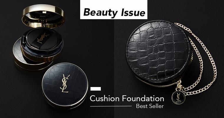 媲美按下「一鍵美肌」! 約會急救必備的 #YSL小皮衣氣墊,全亞洲狂賣!恆久完美氣墊粉餅-訂製皮革版 4/3 全台限量開賣!