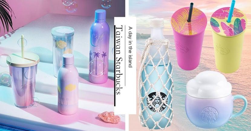 準備度假啦~星巴克「夏季島嶼」系列慵懶上市,「美人魚冷水杯、雲朵馬克杯」讓人好想躺進去♡