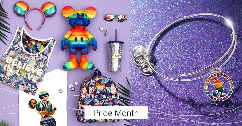迪士尼 6 月「同志驕傲月」周邊商品出爐~彩虹髮箍、熱帶後背包、米奇手環讓彩虹更完整了