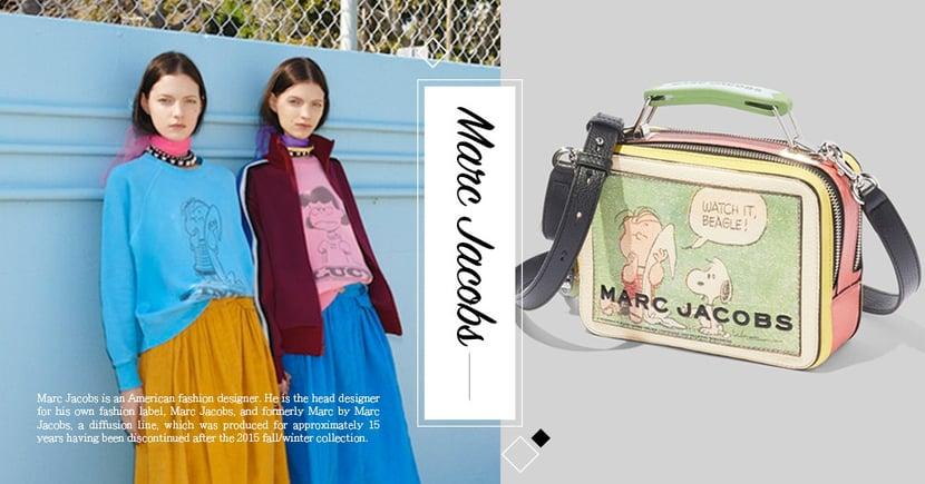 超可愛!The Marc Jacobs x 史努比聯手推出「復古相機包」~超平價讓小資女不用賣腎也能入手
