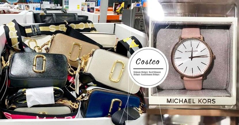 直接打5折!Costco再推「Marc Jacobs 相機包、MK簡約女錶」~這下真的是買好買滿啦