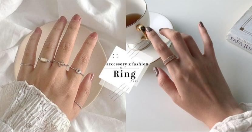想招桃花戒指戴這指才正確!揭秘~10隻手指戴戒的背後意義,別再戴錯啦