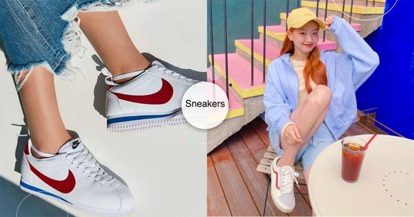 女孩球鞋初學全攻略!精選網拍紅模必備5雙「百搭球鞋」,Nike阿甘鞋、Adidas這雙買了絕不後悔~