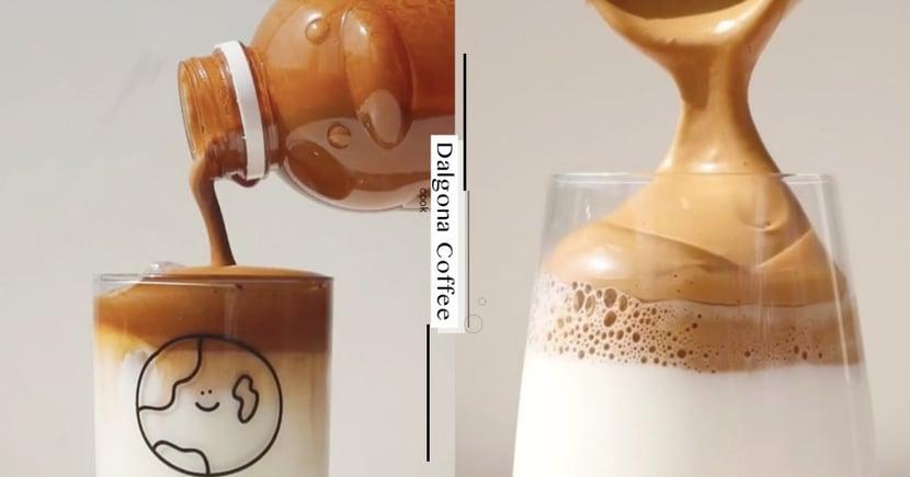 韓國爆紅的「400次咖啡」!只要5步驟在家就能完成,喝起來直逼澳門咖啡老店~每天喝超幸福♡