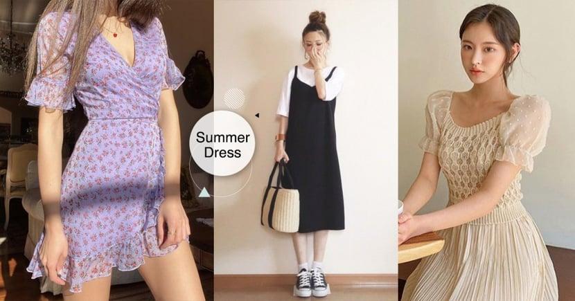 一秒變仙女!盤點 4 種甜度的「夏日連身洋裝」,不管幾分甜,女人味絕對100分~