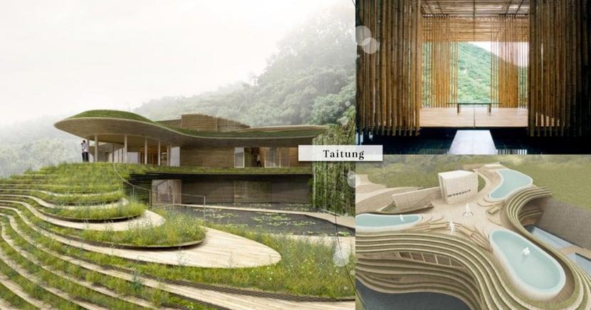 台東「豪華度假村」將入駐!「知本六善溫泉酒店」超夢幻梯田設計,一望無際的海景~預計2021年開幕