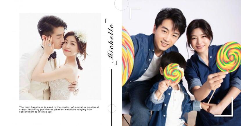 陳妍希公開兒子「小星星正面照」!一家三口幸福合影祝陳曉生日快樂