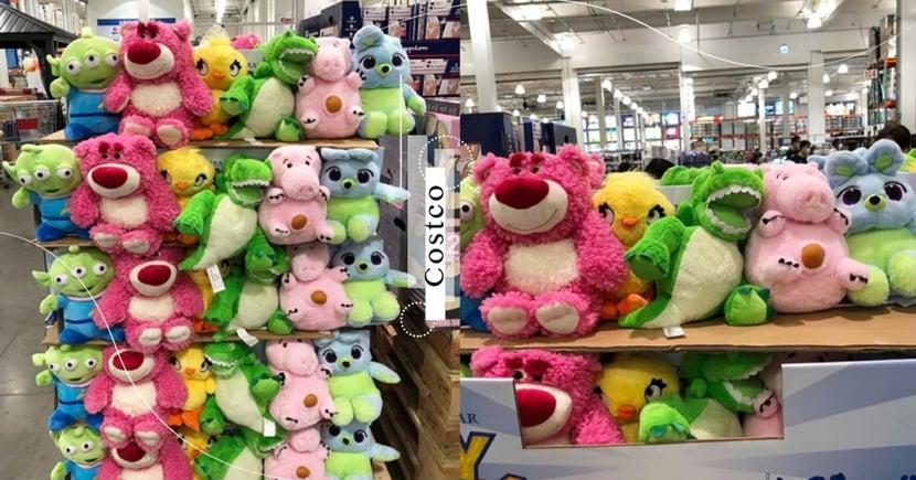 Costco《玩具總動員》娃娃!熊抱哥、三眼怪全都有~一隻不到150元