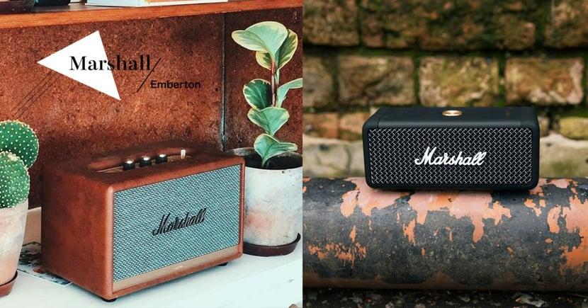 Marshall推出復古迷你音響~霧黑皮革+玫瑰金復古按鈕質感超提升