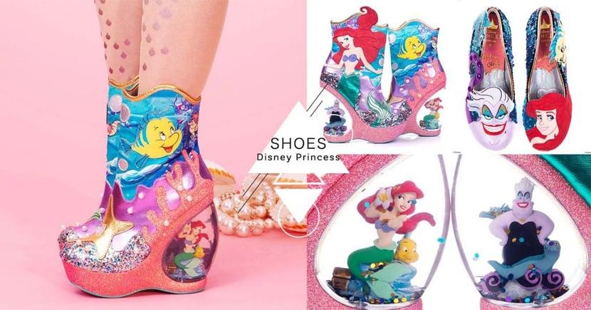 另類夢幻公主鞋!小美人魚變「鞋跟水晶球」超浮誇,走上街必是全場焦點