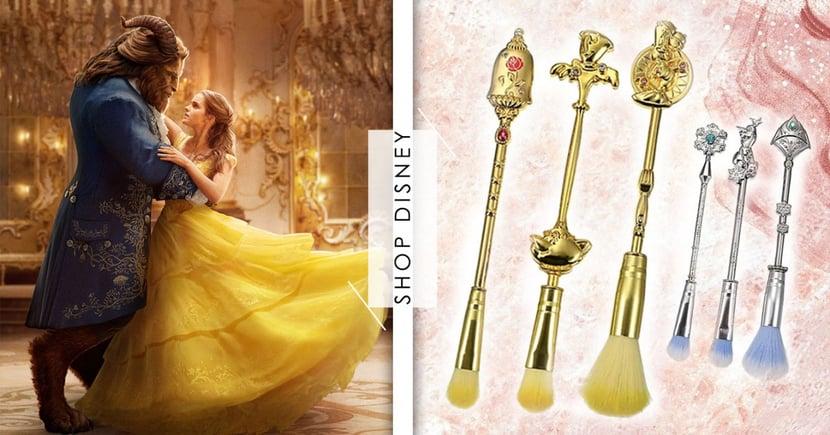 日本迪士尼推出超華麗「公主刷具」!美女與野獸、冰雪奇緣夢幻必收~