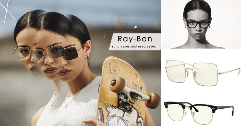 潮無止「鏡」!Ray-Ban全新「EVERGLASSES」系列時尚又實用~ 特殊鏡片搭配時尚鏡框,隨時防護有型!
