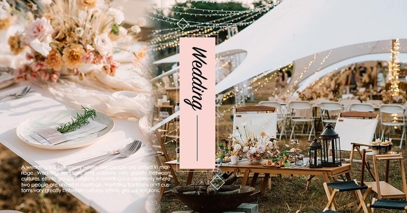 極致夢幻戶外婚禮台灣也有!圍繞浪漫花草、自然綠意...「Backyard」 給新人夢境般回憶~