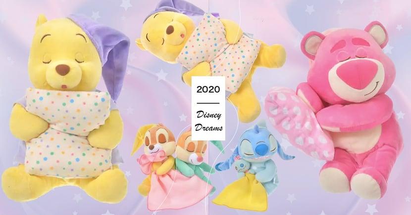 迪士尼「ㄛㄛ睏睡姿娃娃」又來了,小熊維尼嘴開開睡得太香甜了吧~