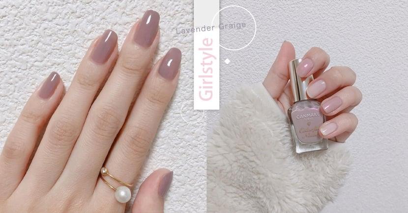 小仙女都選『牛奶糖薰衣草色』~小屈、寶雅必收10瓶指甲油♡塗完手指白一色號的指甲素顏霜!