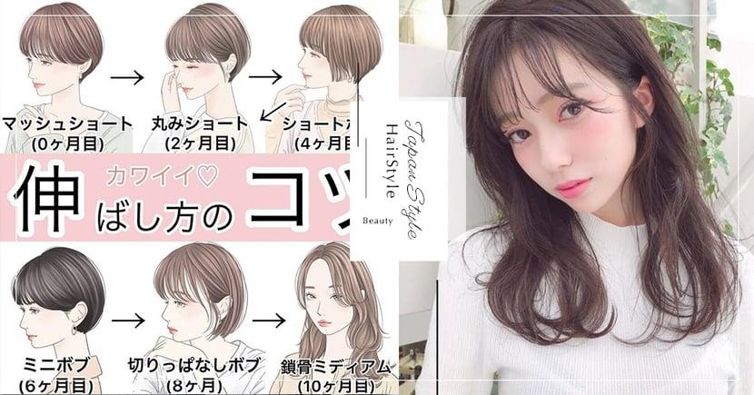 超實用「短髮→長髮過渡期」階段表瘋傳!解決各階段尷尬過渡期~輕鬆擁有仙女長髮♡