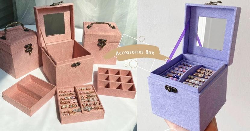 小公主必收!韓國「復古歐風珠寶盒」7款仙女高級色爆美~這就是我要的質感收納