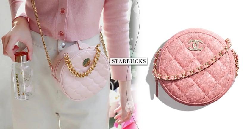 大陸星巴克5款「櫻花粉紅小香包」登場!超奢華千金風皮包價格2千有找~比買精品還划算!