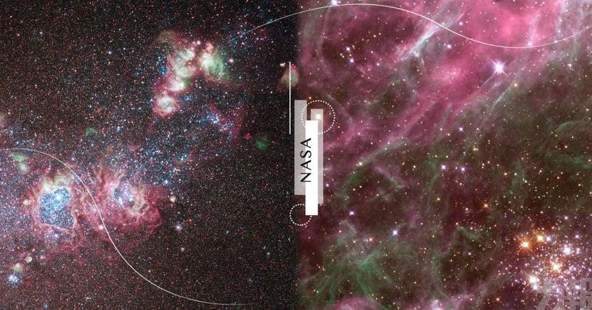 找出妳的專屬星空!NASA發布366張「生日星空圖」~這天出生是粉色銀河系超夢幻♡
