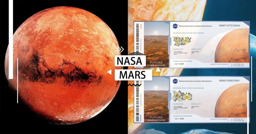 登陸火星不是夢!NASA開放「2026太空船票」免費預定,3步驟就帶你飛向宇宙~浩瀚無垠!