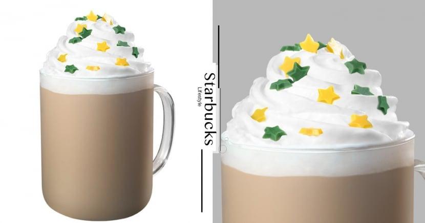 台灣首次推出!星巴克「星星相印白柚咖啡那堤」療癒鮮奶油+滿天星星點綴,開賣日在這天~