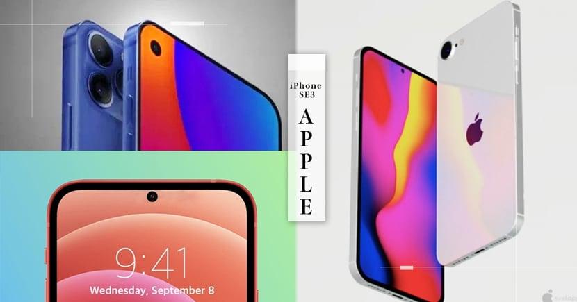 Apple首支全螢幕手機登場?『iPhone SE3』預示圖公開~只要5千元即可入手「絕美果凍藍」新機♡